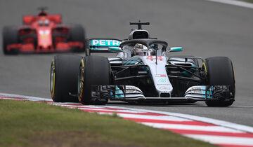Lewis Hamilton - GP China 2018