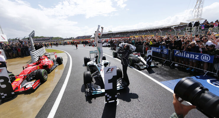 Lewis Hamilton - GP England 2015