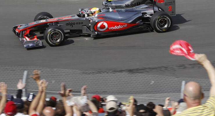 Lewis Hamilton GP Kanada 2010