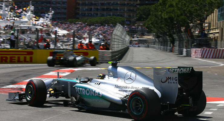 Lewis Hamilton GP Monaco 2013