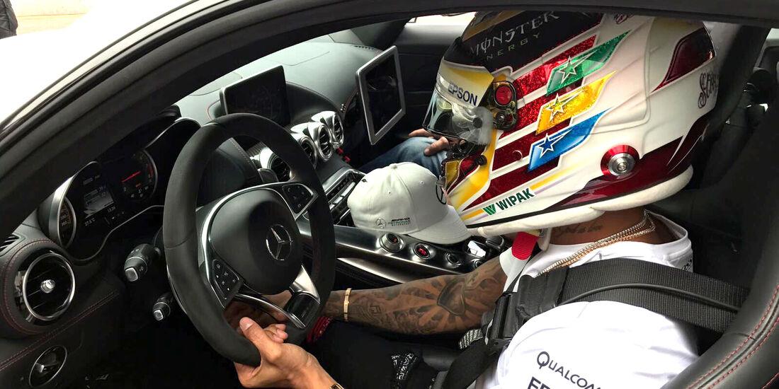Lewis Hamilton - GP Monaco 2017