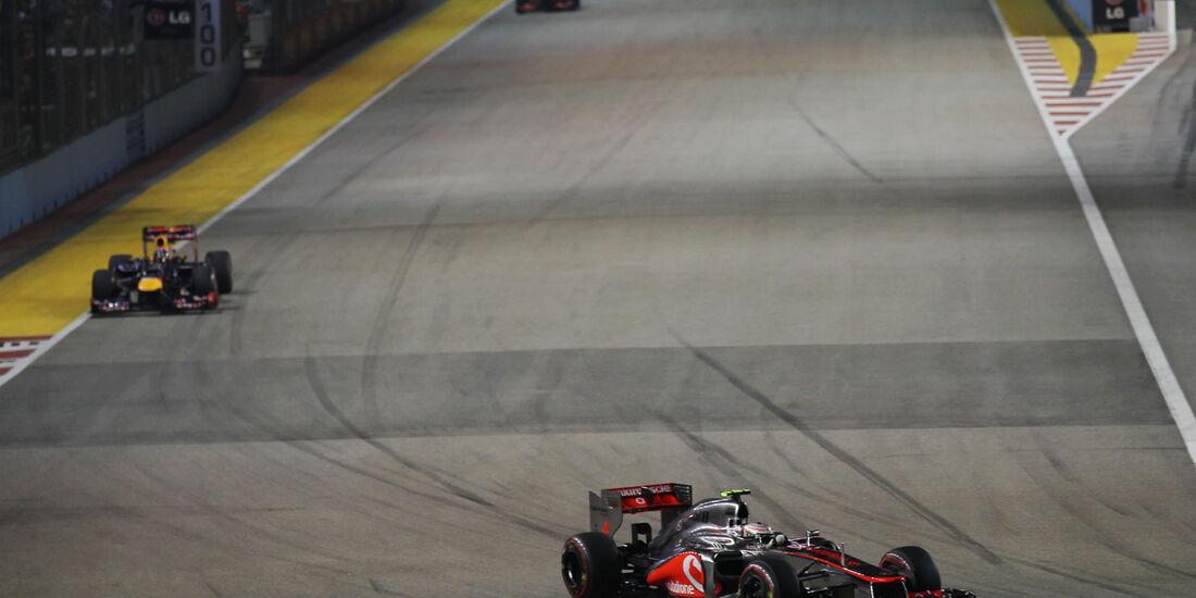 Lewis Hamilton - GP Singapur 2012