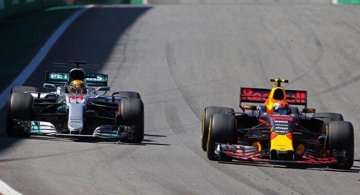 Lewis Hamilton - Max Verstappen - Formel 1 - GP Brasilien - 12. November 2017