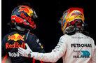 Lewis Hamilton & Max Verstappen - GP Malaysia 2017