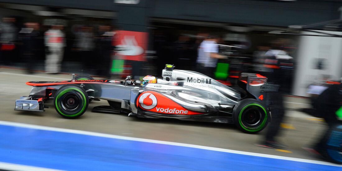 Lewis Hamilton - McLaren - Formel 1 - GP England - Silverstone