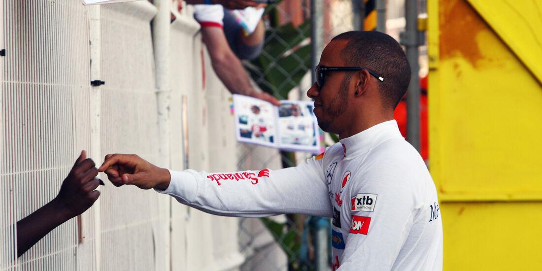 Lewis Hamilton - McLaren - Formel 1 - GP Monado - 24.Mai
