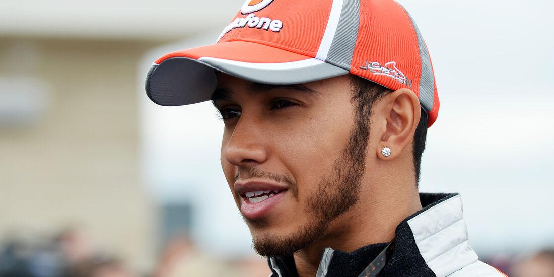 Lewis Hamilton - McLaren - Formel 1 - GP USA - Austin - 15. November 2012