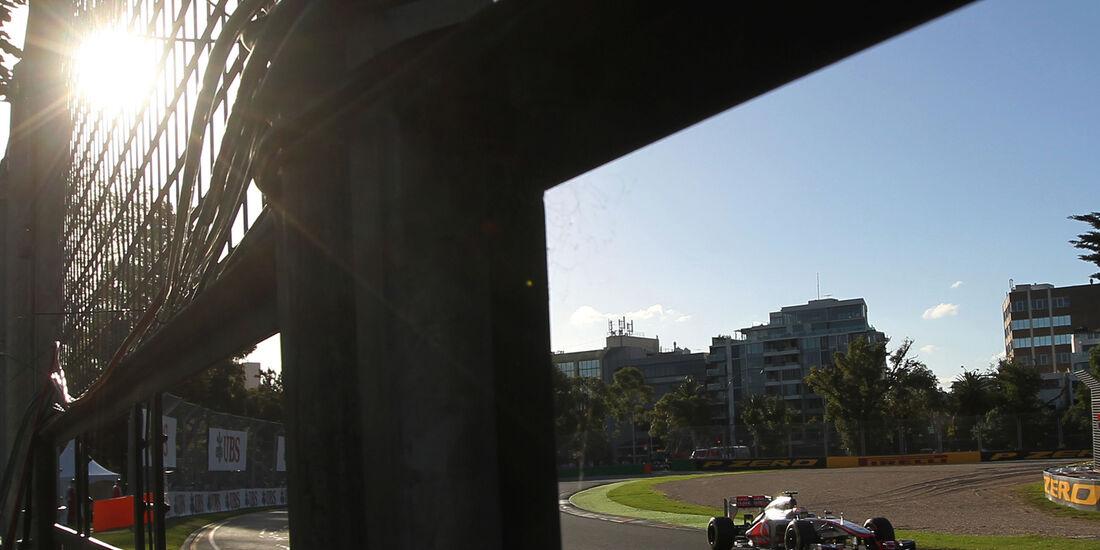 Lewis Hamilton - McLaren - GP Australien - Melbourne - 17. März 2012