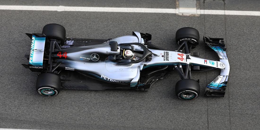 Lewis Hamilton - Mercedes - F1-Test - Barcelona - Tag 7 - 8. März 2018