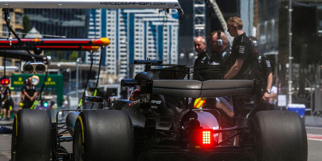 Lewis Hamilton - Mercedes - Formel 1 - GP Aserbaidschan 2017 - Training - Freitag - 23.6.2017