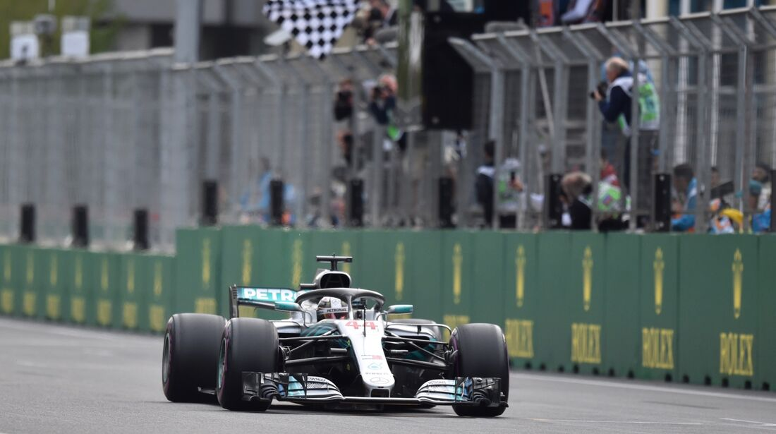 Lewis Hamilton - Mercedes - Formel 1 - GP Aserbaidschan - 29. April 2018
