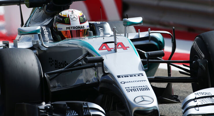Lewis Hamilton - Mercedes - Formel 1 - GP Bahrain - 17. April 2015