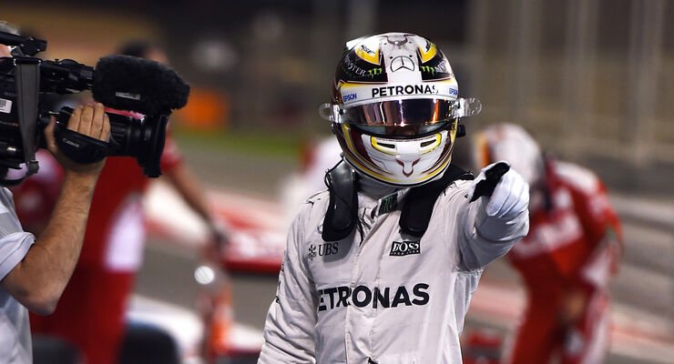 Lewis Hamilton - Mercedes - Formel 1 - GP Bahrain - 2. April 2016