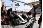 Lewis Hamilton - Mercedes - Formel 1 - GP Bahrain - Sakhir - Training - Freitag - 14.4.2017