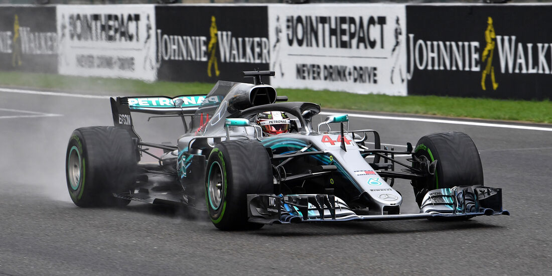 Lewis Hamilton - Mercedes - Formel 1 - GP Belgien - Spa-Francorchamps - 25. August 2018