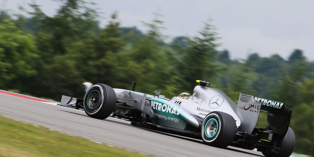 Lewis Hamilton - Mercedes - Formel 1 - GP Deuschland - 5. Juli 2013