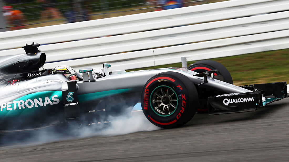 Lewis Hamilton - Mercedes - Formel 1 - GP Deutschland - Hockenheim - 29. Juli 2016