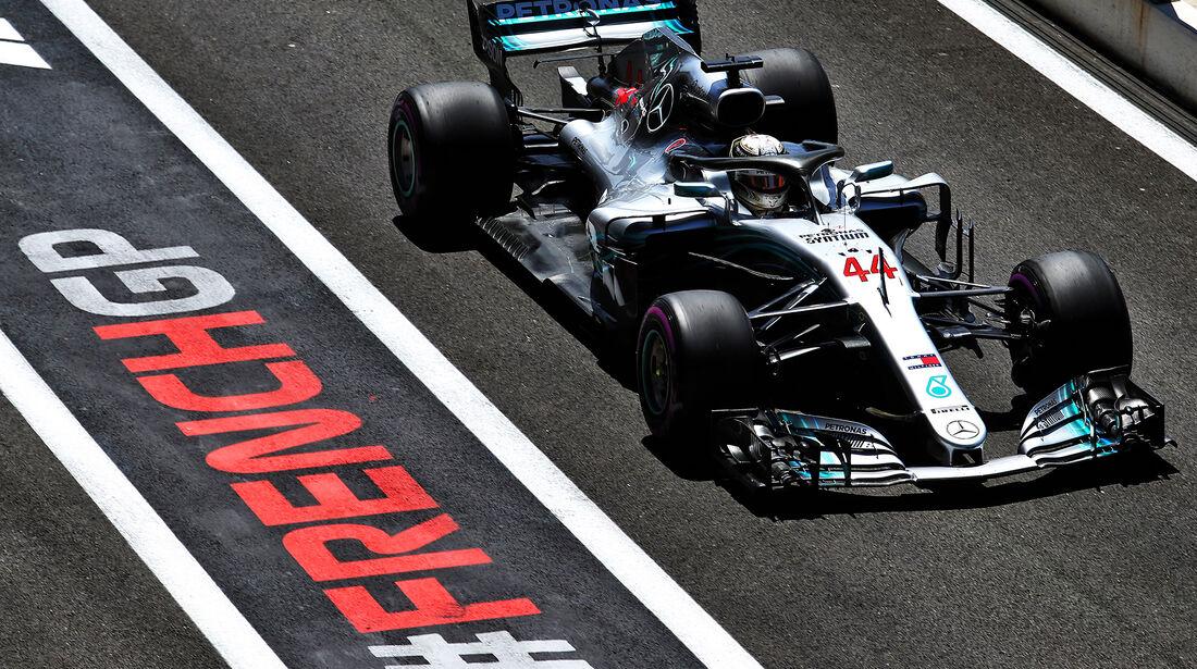 Lewis Hamilton - Mercedes - Formel 1 - GP Frankreich - Circuit Paul Ricard - 22. Juni 2018