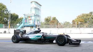 Lewis Hamilton - Mercedes - Formel 1 - GP Italien - Monza - 2. September 2016