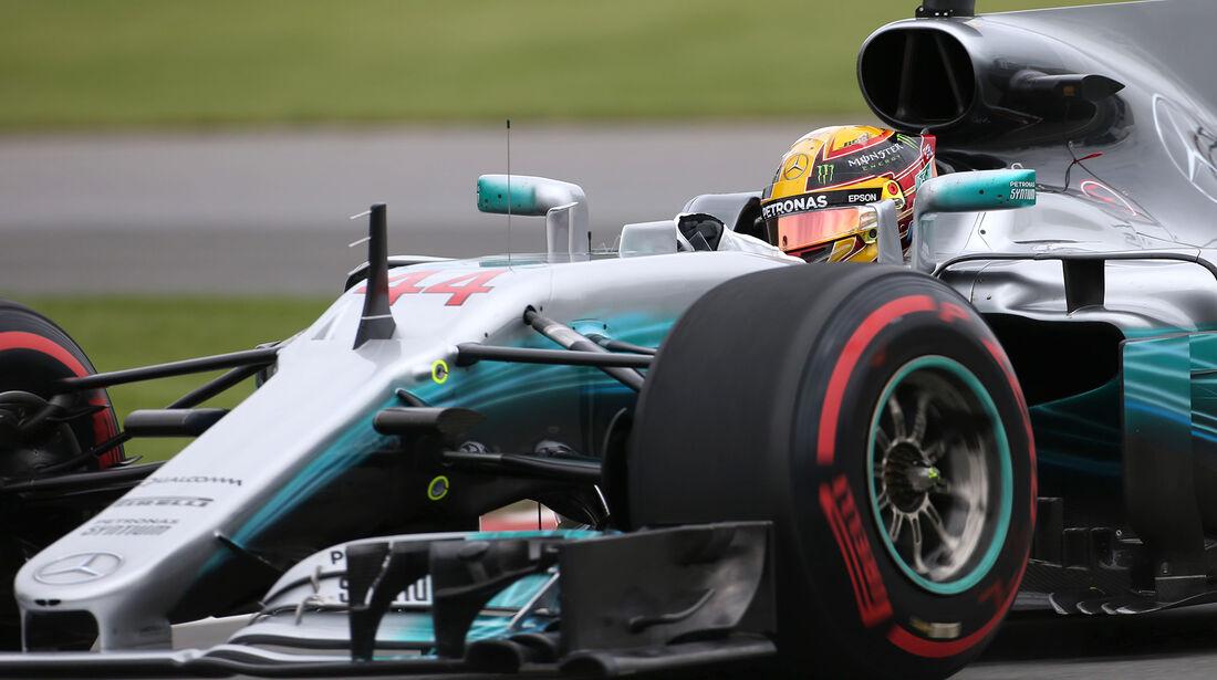 Lewis Hamilton - Mercedes - Formel 1 - GP Kanada - Montreal - 9. Juni 2017