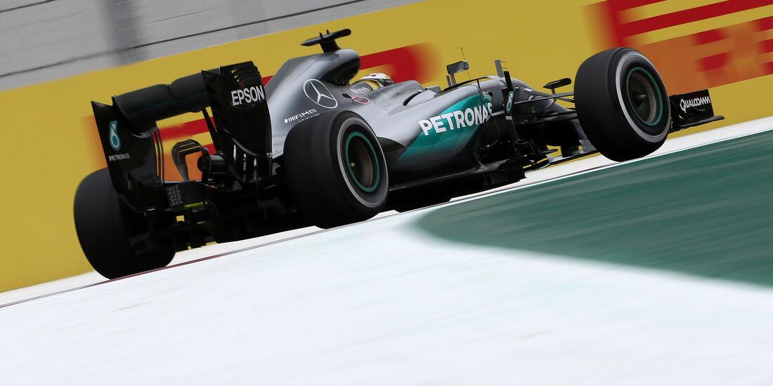 Lewis Hamilton - Mercedes - Formel 1 - GP Mexiko - 28. Oktober 2016