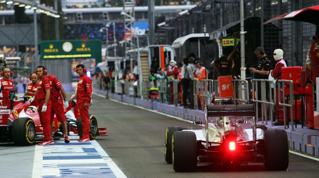 Lewis Hamilton - Mercedes - Formel 1 - GP Singapur - 20. September 2014