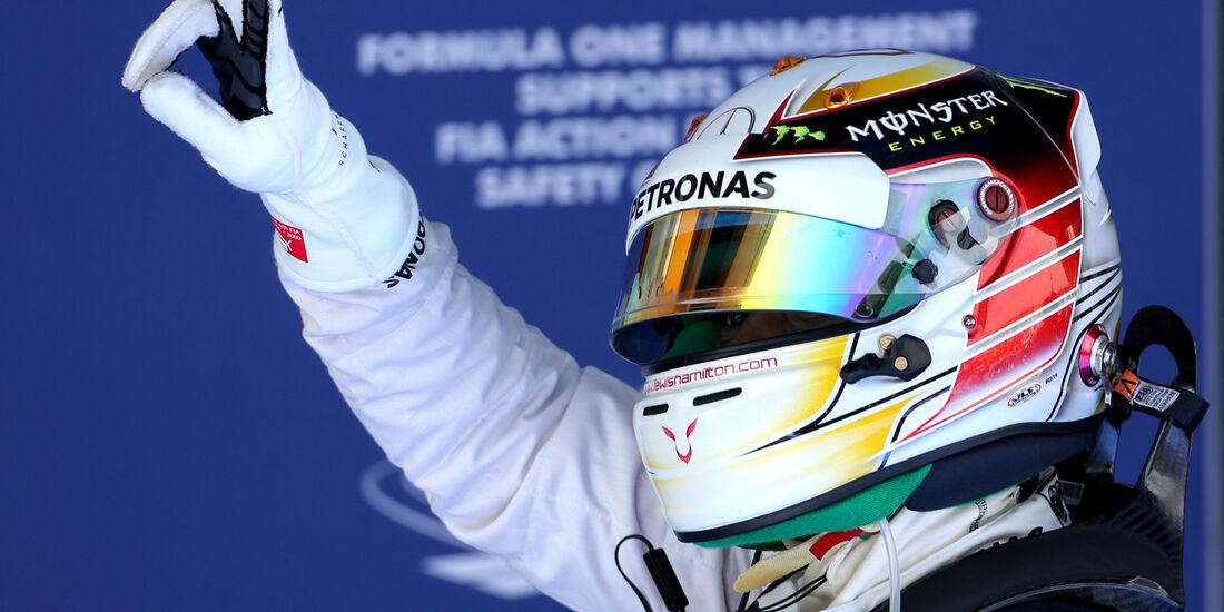 Lewis Hamilton - Mercedes - Formel 1 - GP Spanien - Barcelona - 10. Mai 2014
