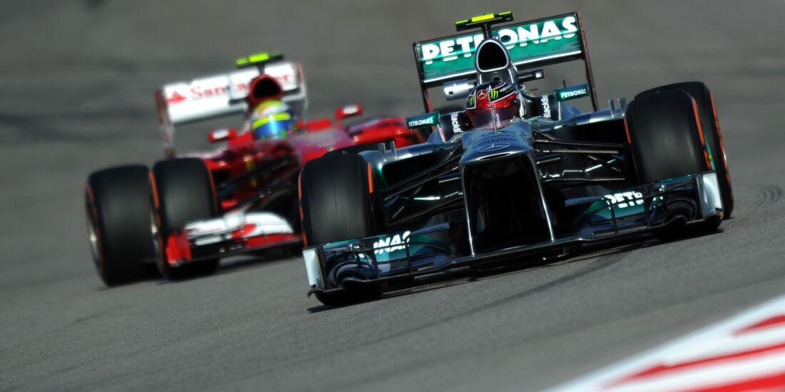 Lewis Hamilton - Mercedes - Formel 1 - GP USA - 15. November 2013