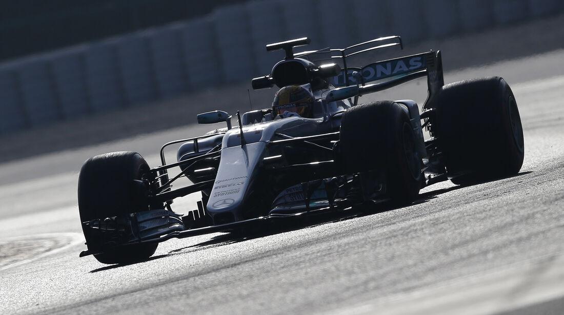 Lewis Hamilton - Mercedes - Formel 1 - Test - Barcelona - 9. März 2017