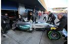 Lewis Hamilton - Mercedes - Formel 1-Test - Jerez - 4. Februar 2015