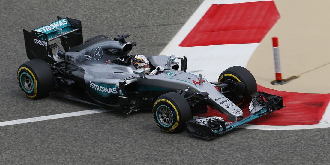 Lewis Hamilton - Mercedes - GP Bahrain - Formel 1 - 1. April 2016