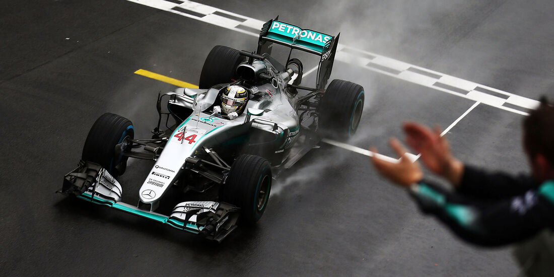 Lewis Hamilton - Mercedes - GP Brasilien 2016 - Interlagos - Rennen