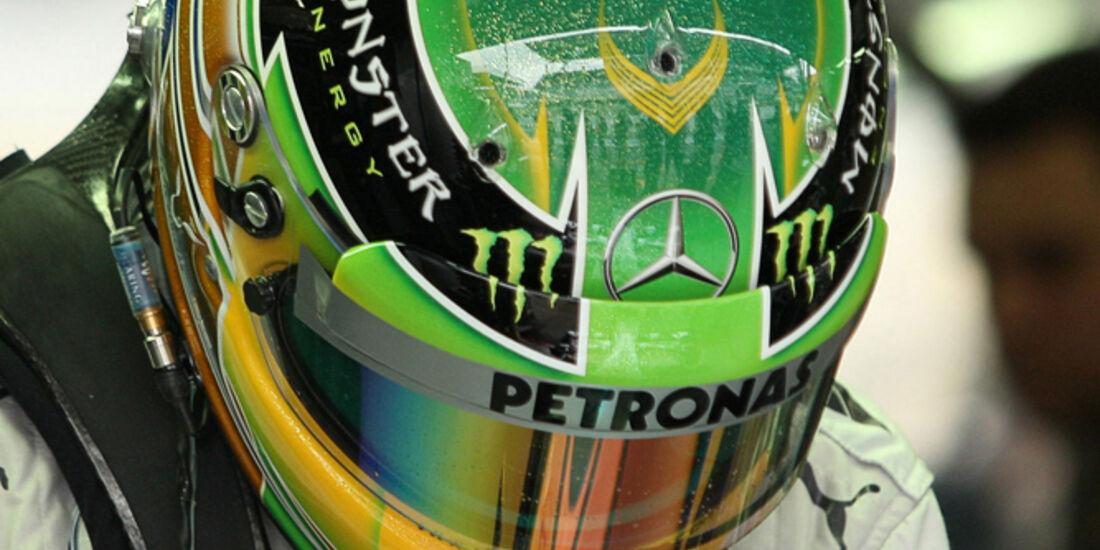 Lewis Hamilton - Mercedes - GP Brasilien - 23. November 2013