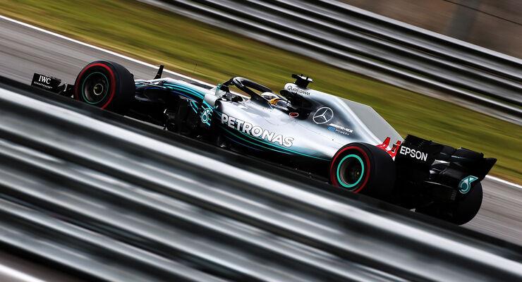 Lewis Hamilton - Mercedes - GP Brasilien - Interlagos - Formel 1 - Freitag - 9.11.2018