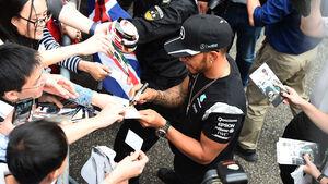 Lewis Hamilton - Mercedes - GP China - Shanghai - Donnerstag - 14.4.2016
