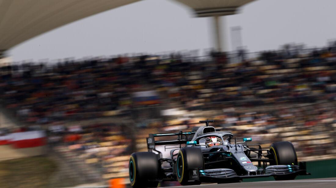 Lewis Hamilton - Mercedes - GP China - Shanghai - Samstag - 13.4.2019