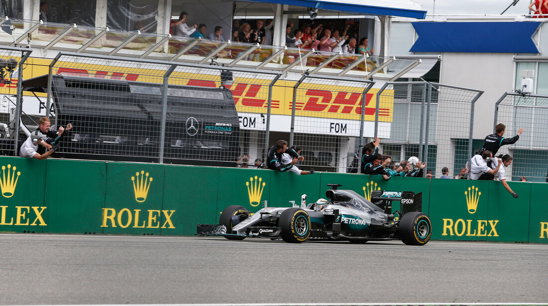 Lewis Hamilton - Mercedes - GP Deutschland 2016 - Hockenheim