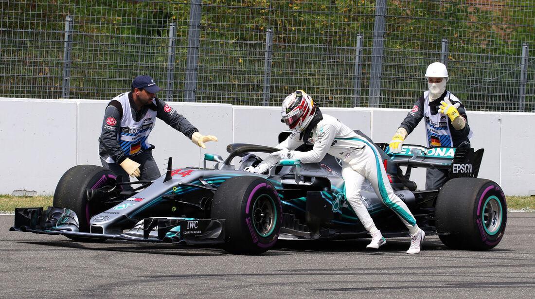 Lewis Hamilton - Mercedes - GP Deutschland - Hockenheim - Qualifying
