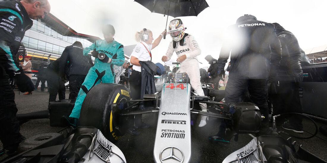 Lewis Hamilton - Mercedes - GP England 2016