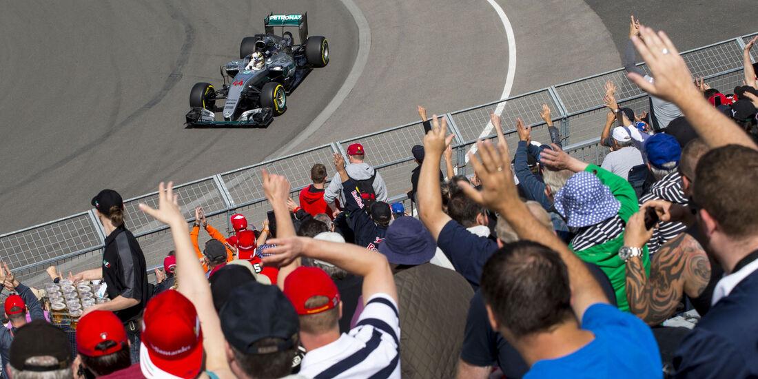 Lewis Hamilton - Mercedes - GP Kanada 2016