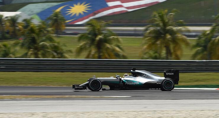 Lewis Hamilton - Mercedes - GP Malaysia - Samstag - 1.10.2016