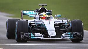 Lewis Hamilton - Mercedes W08 - F1 - 2017
