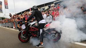 Lewis Hamilton - Motorrad - GP Ungarn 2017