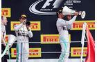 Lewis Hamilton - Nico Rosberg  - Formel 1 - GP Italien - 7. September 2014