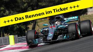 Lewis Hamilton - Rennticker - Teaserbild - GP Frankreich 2018