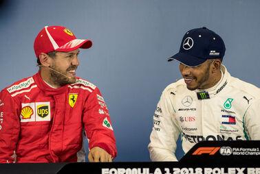 Vettel und Hamilton in eigenerLiga