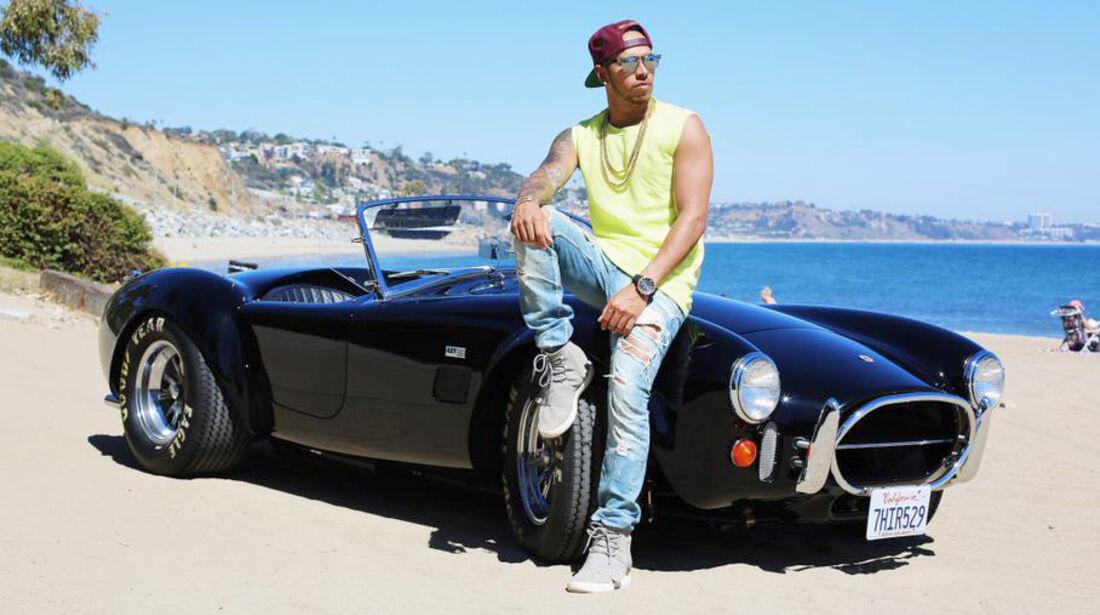 Lewis Hamilton - Shelby Cobra - Privatautos