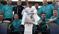 Lewis Hamilton - Stats - GP China 2017