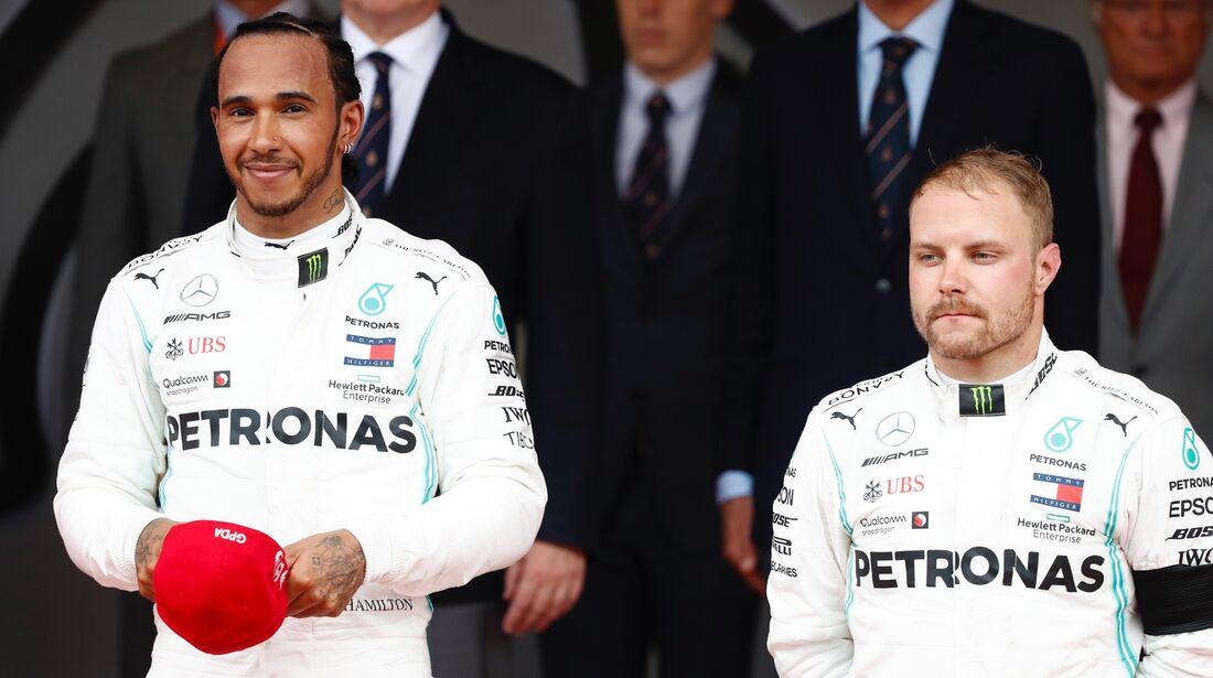 Lewis Hamilton - Valtteri Bottas - Formel 1 - GP Monaco - 26. Mai 2019