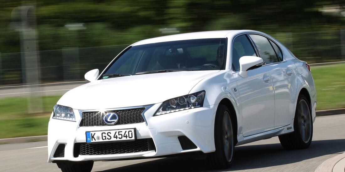Lexus GS 450h F-Sport, Frontansicht